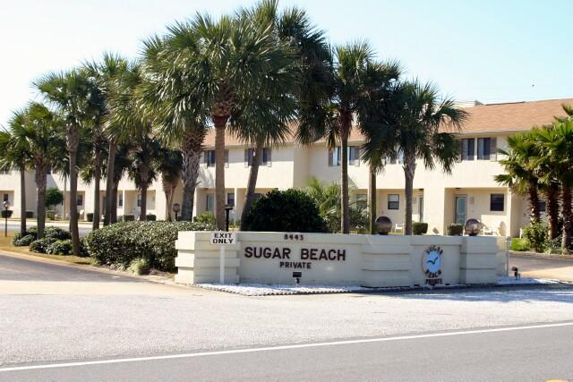 Sugar Beach Gulf Front Entrance